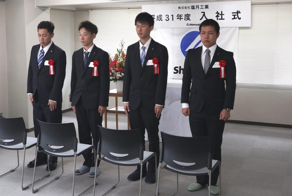 H31入社式②
